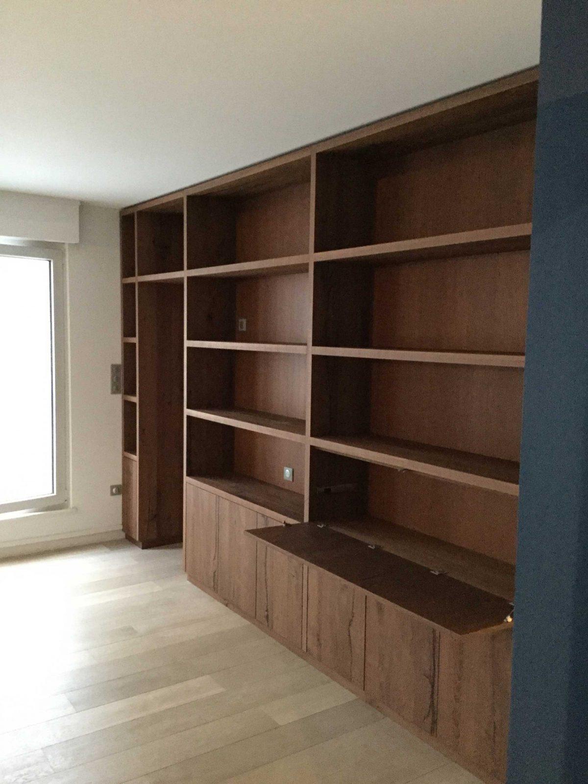 Bibliothèque appartement B