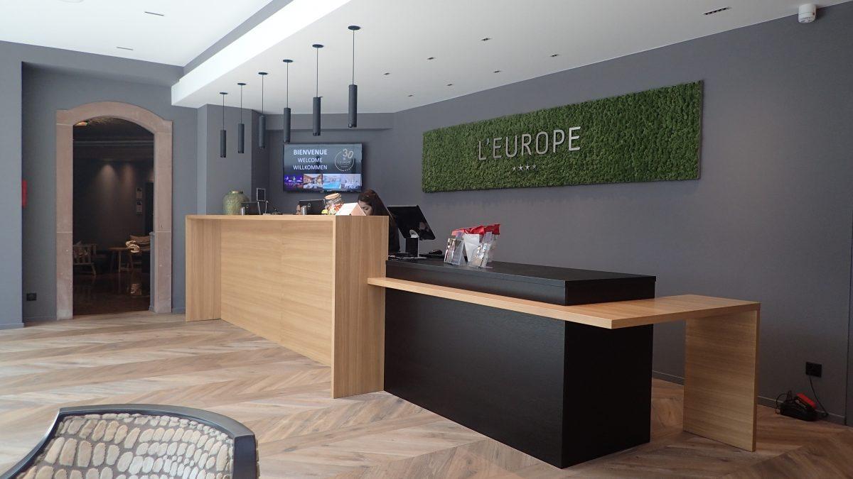 Banque d'accueil Hôtel Europe